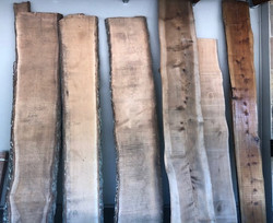 CYPRESS & SILVER WOOD SLABS