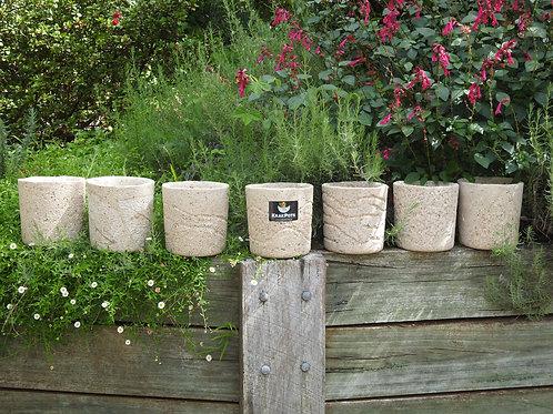 Tall Pot. Light Weight Natural Stone Look & Feel.