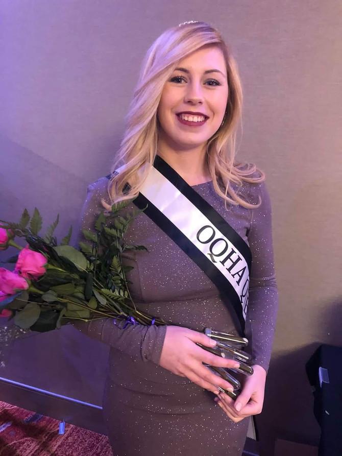Congratulations 2020 OQHA Queen - Darcy Woods