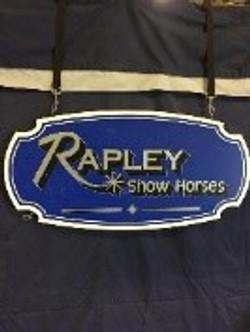 Rapley Show horses