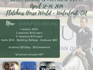 OAQHA Annual Spring Clinic 2019