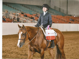 Congratulations to Ontario's 2017 (Youth/Am) AQHA Justin Rookie of the Year Award: Emily Yates/M