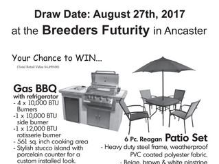 SOMEBODY'S GETTING LUCKY AT THE FUTURITY THIS YEAR, FOR $20 IT COULD BE YOU!!!
