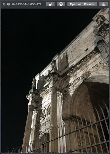 Rome Arch of Constantine