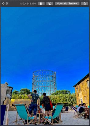 Teatro India Blue Tall