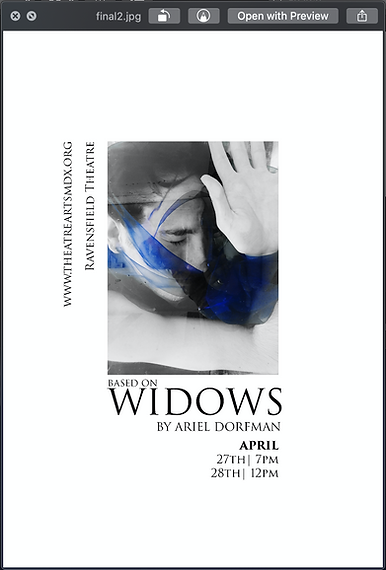 Widows | Poster Art and Photography by Munotida Chinyanga