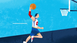 KU sports animation