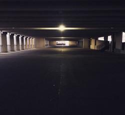 Silence is golden #morning #early #ict #wichita #sunrise #ramp #parking #garage #car #cars #mood #ci