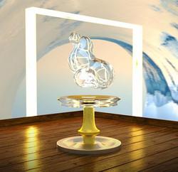 Woodwater #3D #render #concept #art #cinema4d #octanerender #surreal #abstract #wichita