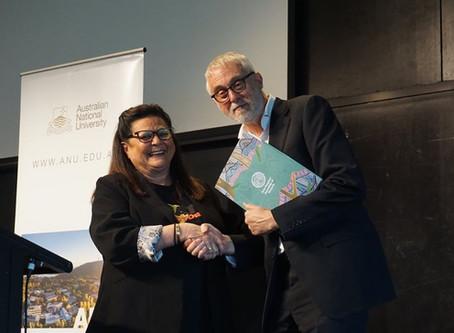 Aboriginal Press Club: Jill Gallagher & Gavin Jennings officialise the FPA