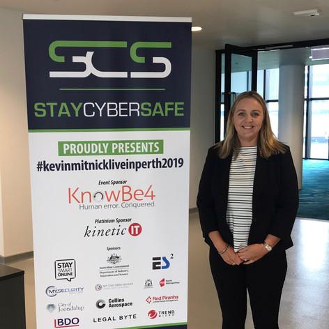 Kayelene Kerr WA Cyber Security Awards