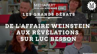 De l'affaire Weistein aux révélations sur Luc BESSON