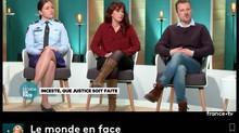 """C. Diebolt était invitée au débat """"Inceste que justice soit faite"""" sur France 5"""
