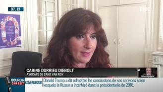 Affaire Luc BESSON : Maître DIEBOLT interrogée par BFM