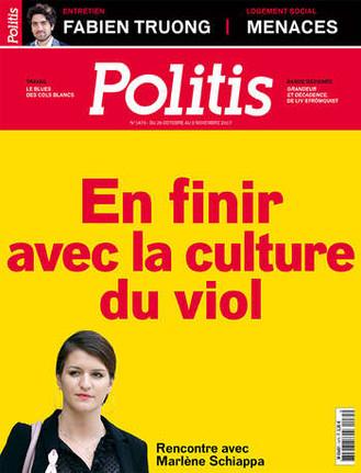 Politis 10/2017 : Violences sexuelles : «Nous sommes dans une période de transition» Me DIEBOLT