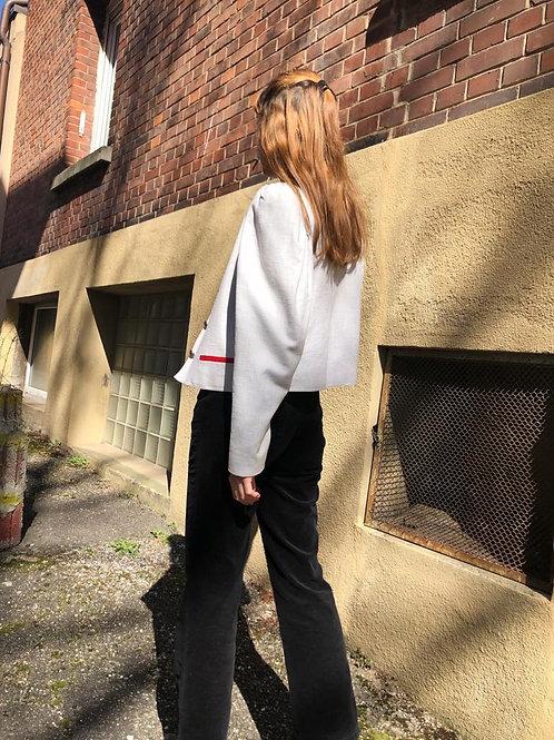 Traditional Bavarian/Austrian style linen jacket