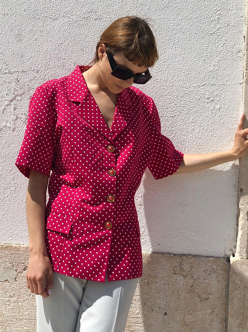 Polka dot vintage shirt