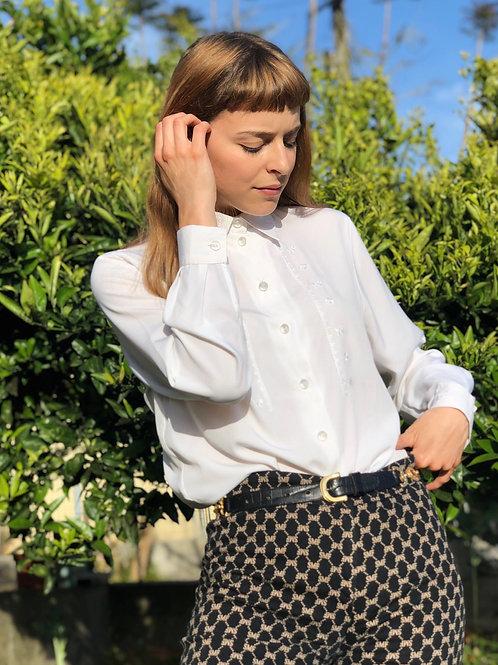 Ana Sousa vintage embroidered blouse