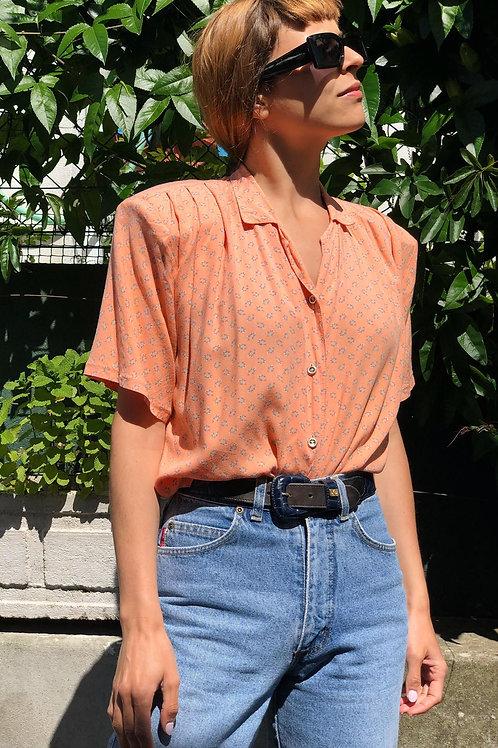 Vintage blouse with shoulder pads