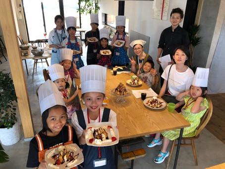 ベジッポ食堂が初めてスイーツ教室を開催しました!! 《おうちで出来るカフェスイーツキッチン》