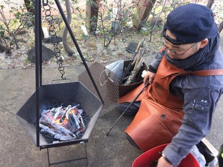 【出張ベジッポキッチン】槙塚登さんの鉄の台所道具を使った料理教室