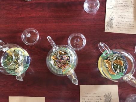 【ハーブティーと〇〇の会】「飲むセルフケア」ハーブティーとシフォンケーキの会開催