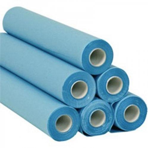 Drap d'examen Bleu plastifié