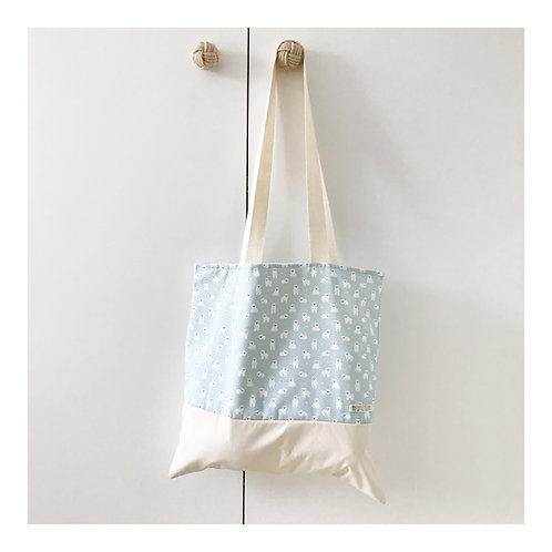 TOTEBAG PANDA POLAR MINT