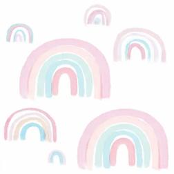 Lambs-&-Ivy-Watercolor-Pastel-Pink-Mint-