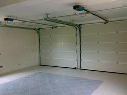 Garagem dupla, vista interior