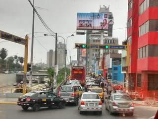 Caos vs tranquilidad. Lima, Perú