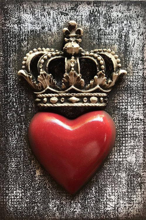 Embellished - Royal Heart