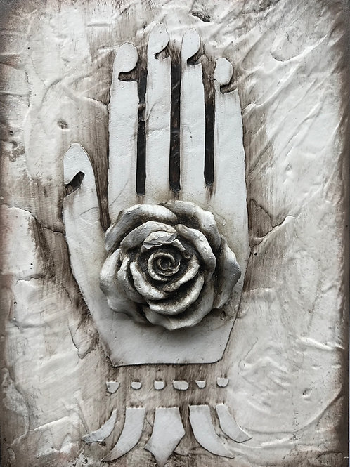 Blooming hand 2