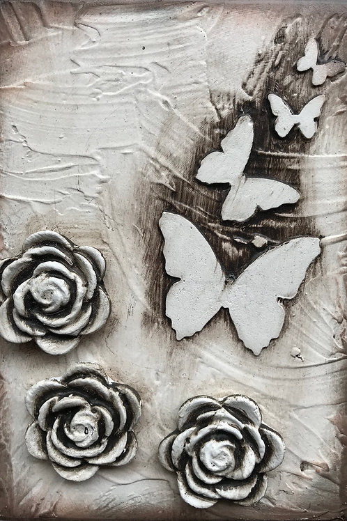 Floral Butterfly 2
