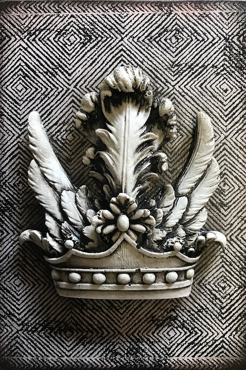 Embellished - Feathered Crown