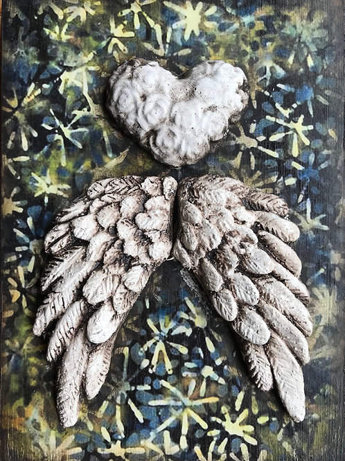 Embellished - Royal wings