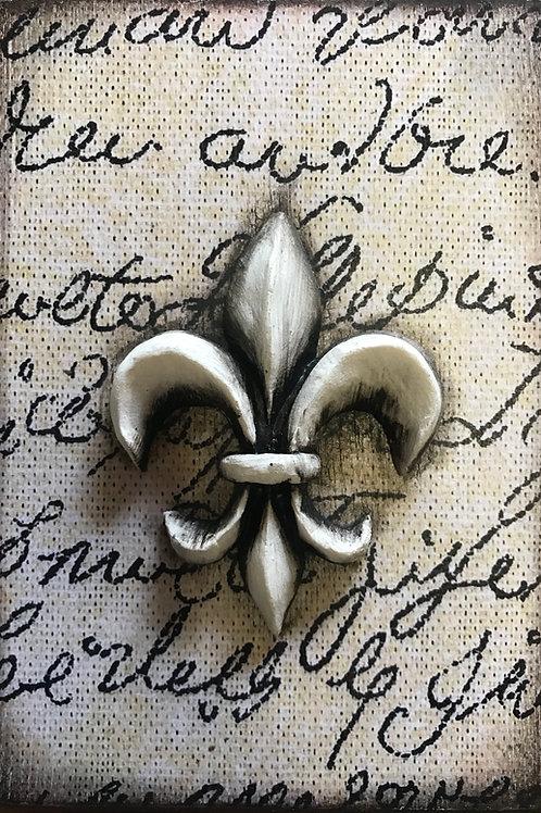 Embellished - Fleur de Lis 1