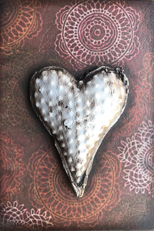Embellished - Rustic Heart