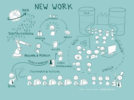New Work - 6 Gründe warum alle darüber sprechen !