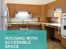 Housing with Accessible Space