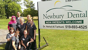 Newbury Dental is located in Newbury, Ontario, serving communities including WestLorne , Dutton, Bothwell, Ingersoll, Mt. Brydges, Strathroy, Thamesville, Wardsville, Ridgetown, Glencoe and surrounding areas.