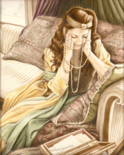 Anguished Protrait of Vashti