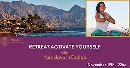 Retreat Activate Yourself 19-22 Nov