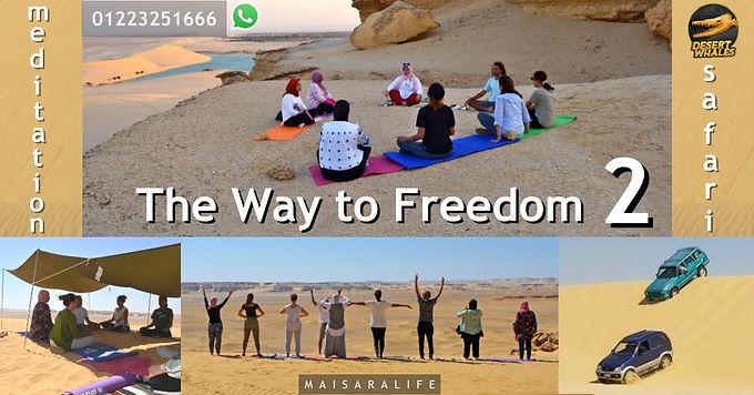 The Way to Freedom 2 - Meditation & Safari Retreat 26-28 Nov