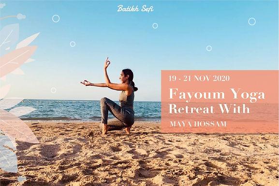 Fayoum Yoga Retreat 19-21 Nov