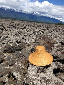 Plaited hat- Lava beds