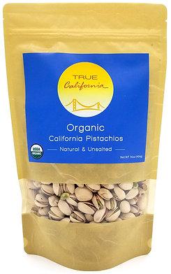 Organic California Pistachios, Raw