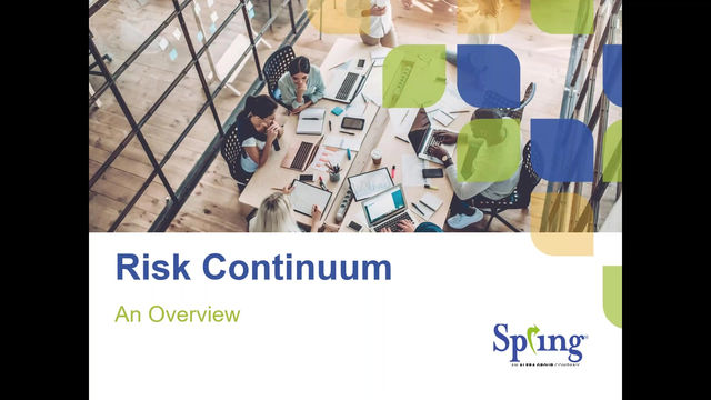 Risk Continuum: A Video Overview