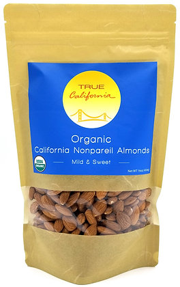 Organic Nonpareil Almonds