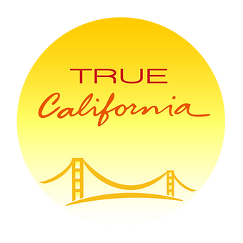 True California - Bridge Logo - 4 window